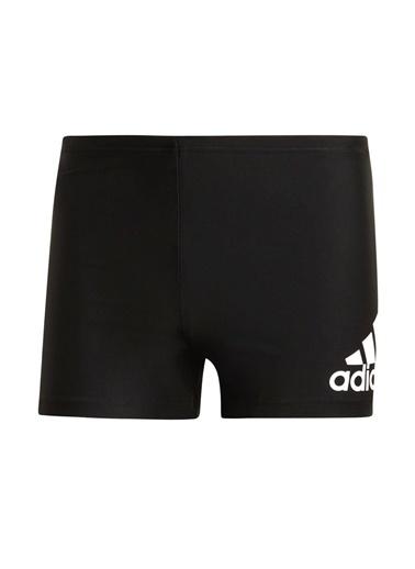 adidas adidas DY5078 Badge Swim Fitness Boxer Erkek Şort Mayo Siyah